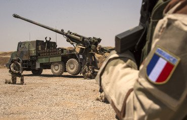French forces support Middle East stability