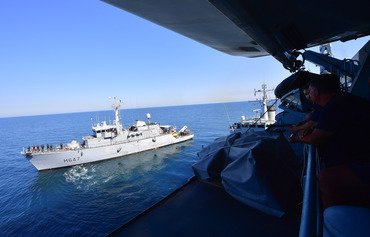 Coalition partners secure navigation in Gulf waters