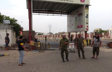 Security Belt soldiers wounded in Aden blast