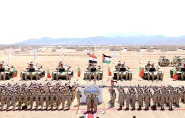 Egypt, Jordan forces train together at Red Sea