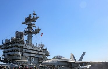 USS Abraham Lincoln safeguarding maritime navigation in the Gulf