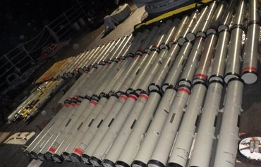 Iranian-made arms seized from dhow bound for Yemen