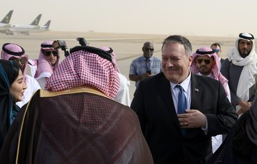 Pompeo in Riyadh for talks focused on Iran