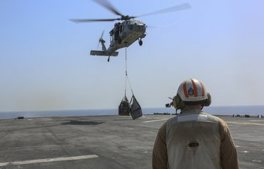 US military enhances deterrent capabilities in Gulf waters