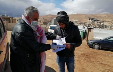 Lebanon takes preventive measures to fight COVID-19 in Syrian refugee camps