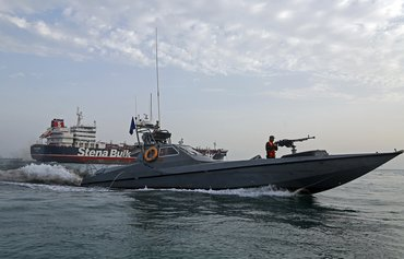 Armed men board ship off Iran's south-east coast