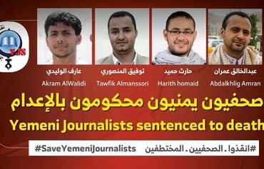 International community calls on Houthis to reverse death sentences against journalists