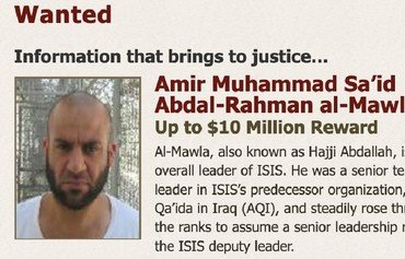 US doubles reward for ISIS leader to $10 million