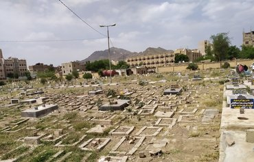 Sanaa cemeteries overwhelmed with COVID-19 dead