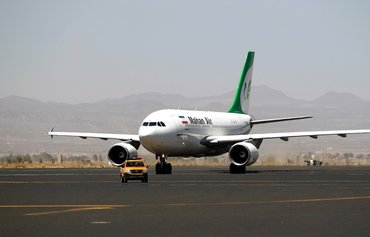 US forces inspect Mahan Air flight over Syria