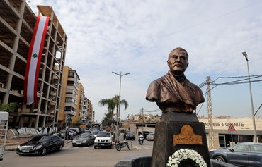 Soleimani statues, posters spark outrage in Lebanon